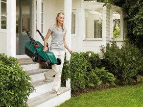 Trong ứng dụng và xử lý một máy cắt cỏ điện